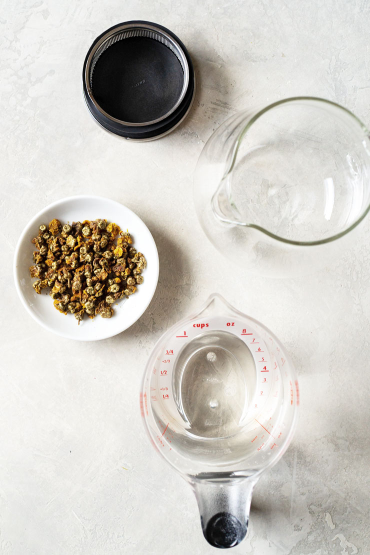 Easy Chrysanthemum Tea Ingredients