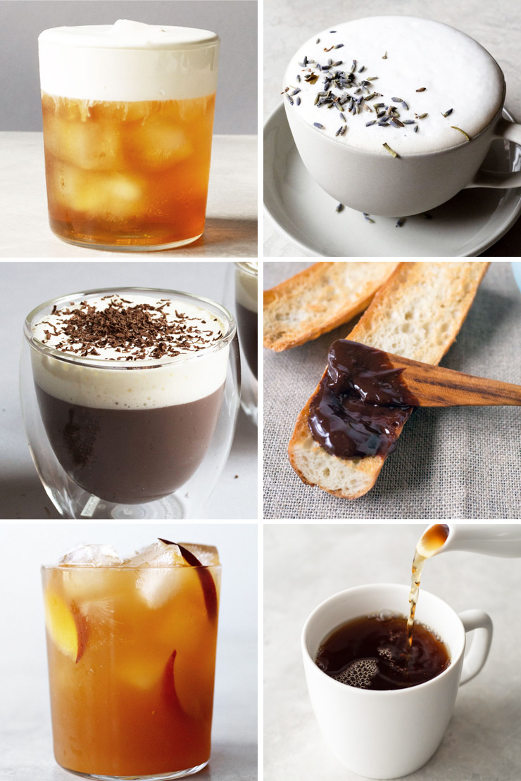 6 images with Earl Grey tea as its main ingredient.