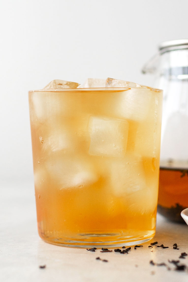 Iced English Breakfast Tea