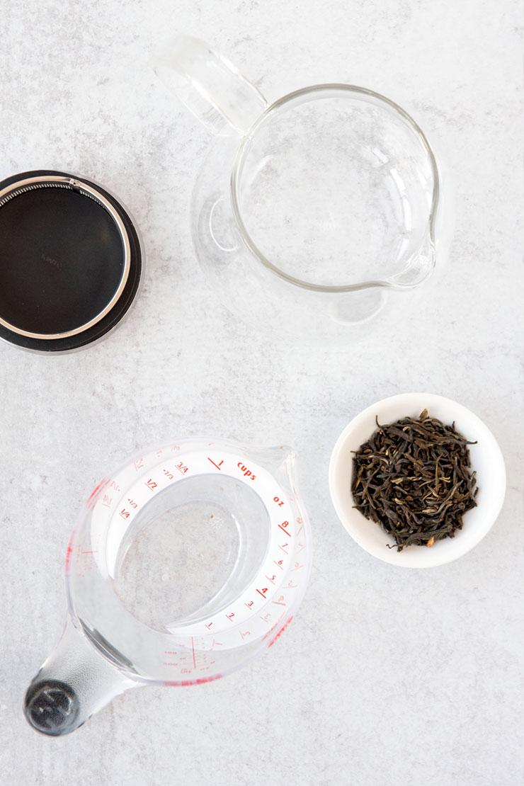 Jasmine tea ingredients