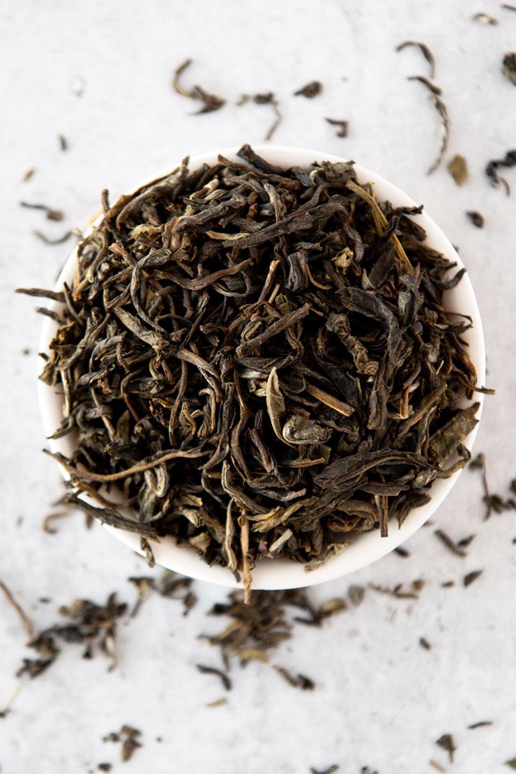 Loose jasmine tea