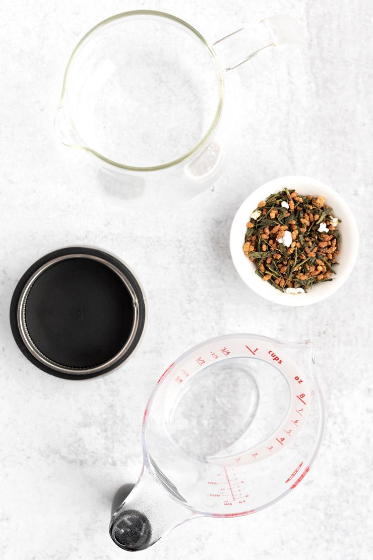 Genmaicha Tea Ingredients