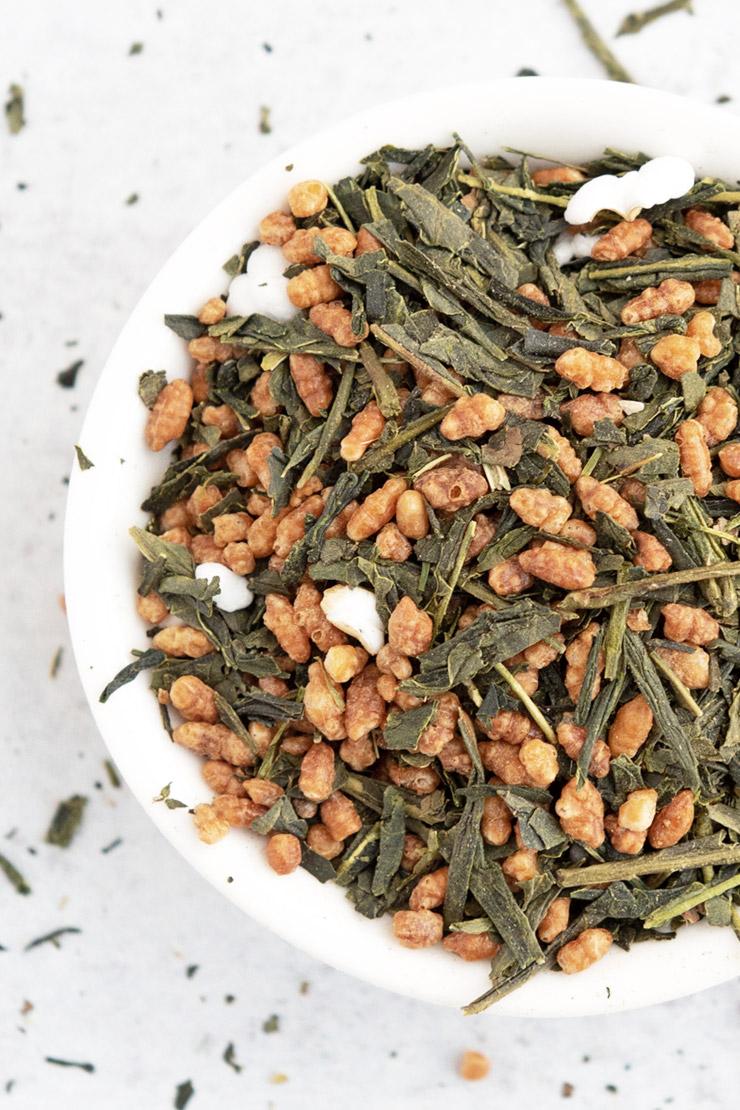 Loose Genmaicha Tea