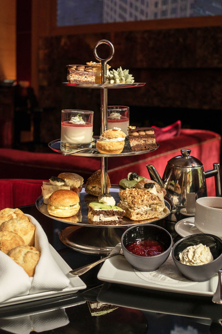 Tea at the Four Seasons New York