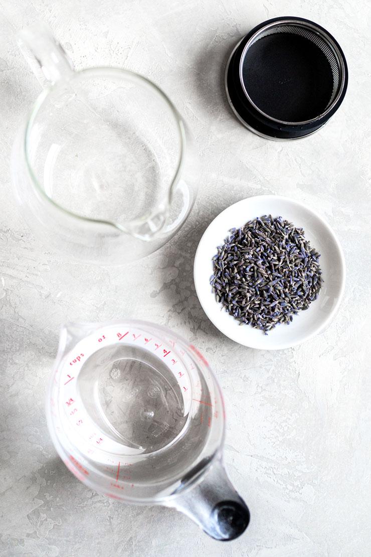 Lavender tea ingredients