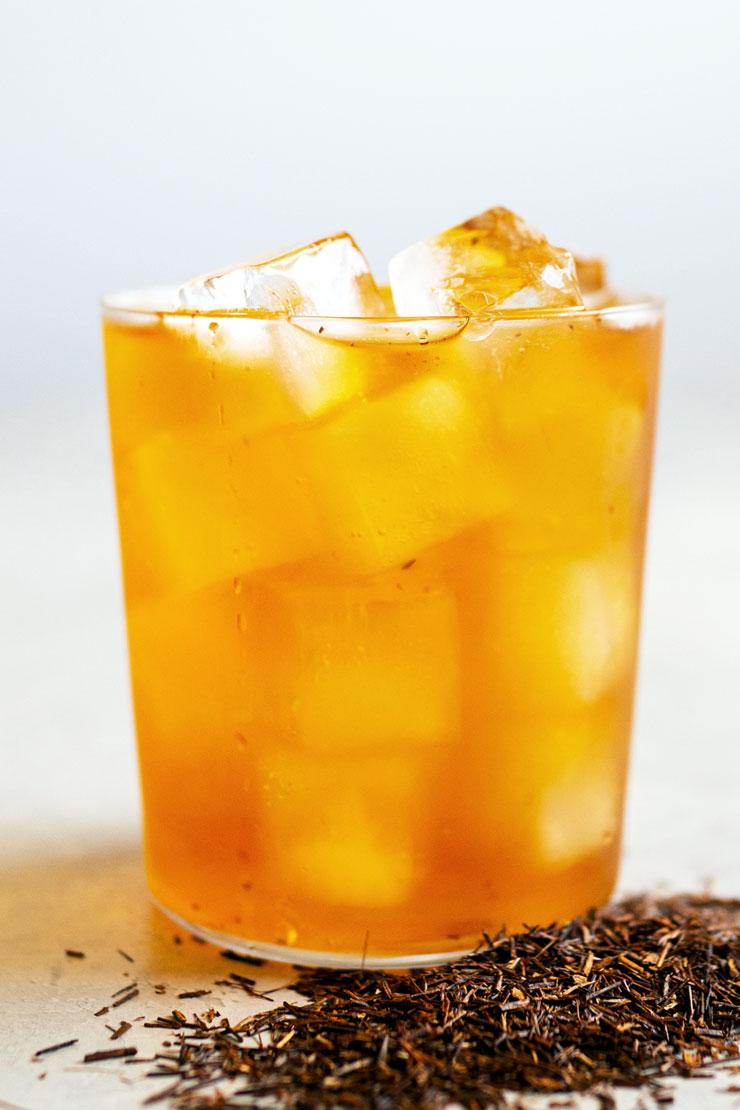 Iced rooibos tea