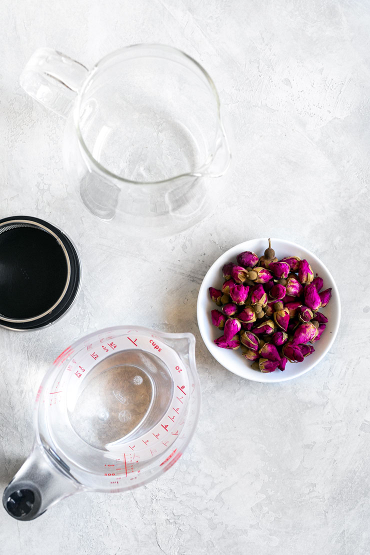 Rose tea ingredients