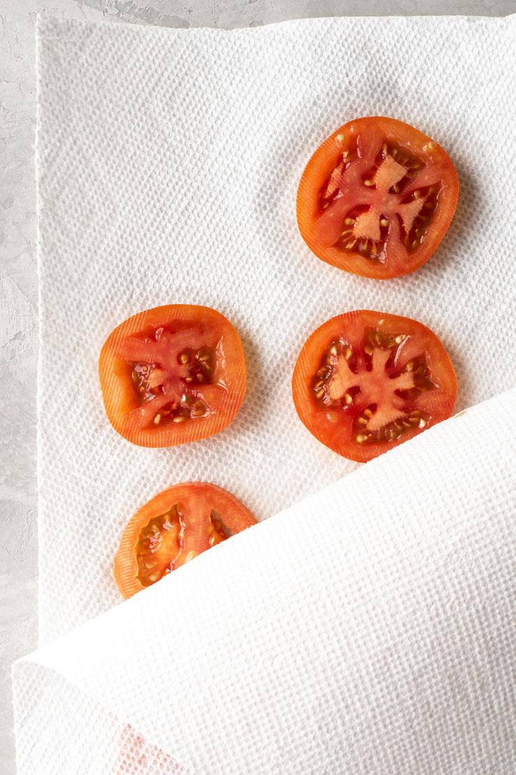 How to Make Mozzarella Cheese, Tomato, and Basil Tea Sandwiches