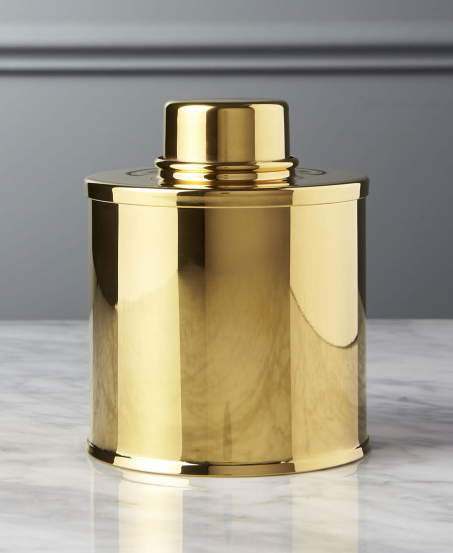 Gold Tea Canister photo