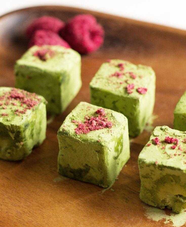 Matcha (Green Tea) Truffles