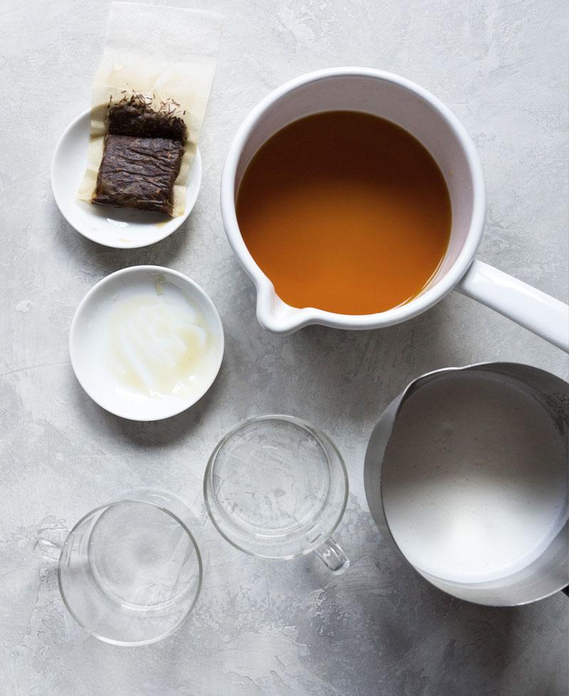 Rooibos latte