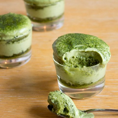 Matchamisu = Matcha (Green Tea) Tiramisu