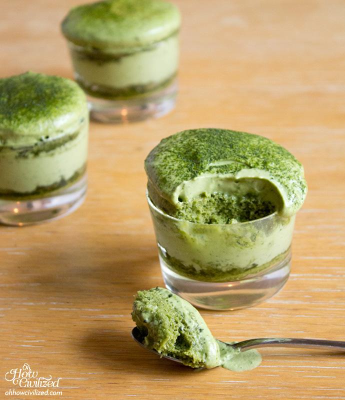 Matchamisu Matcha Green Tea Tiramisu Oh How Civilized