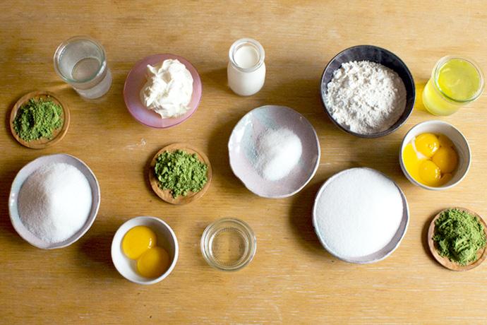 Matchamisu Matcha Tiramisu ingredients photo