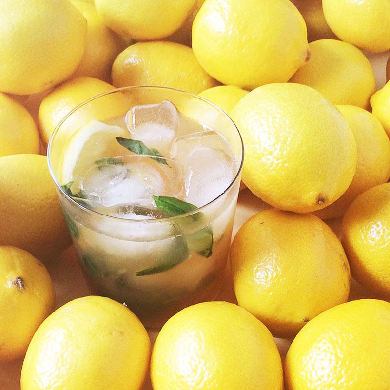 Muddled Mint Lemonade Iced Tea recipe