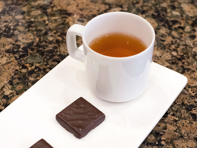 Tea and Chocolate Pairings at La Maison du Chocolate