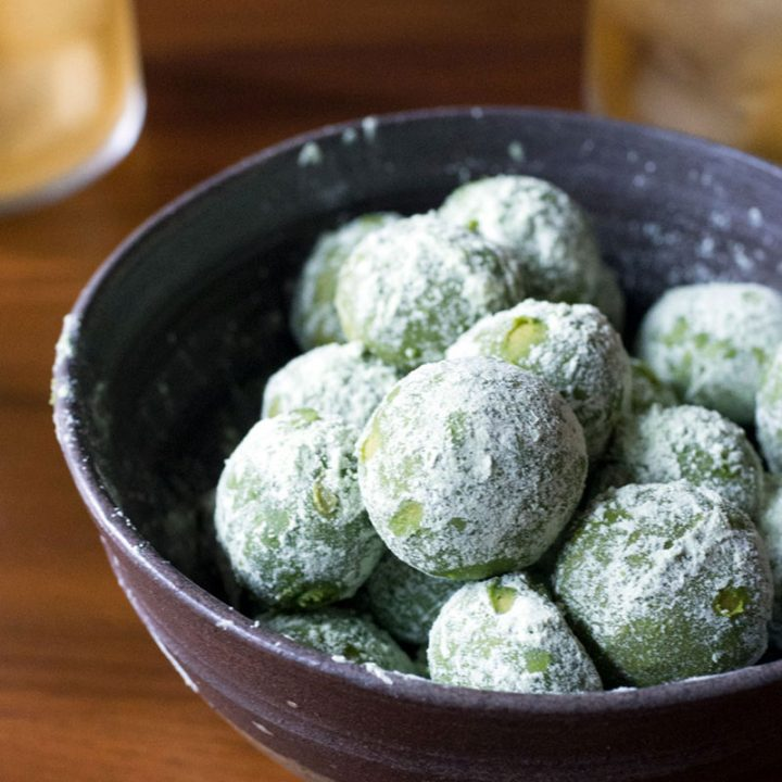 Matcha (Green Tea) Lemon Meltaway Cookies