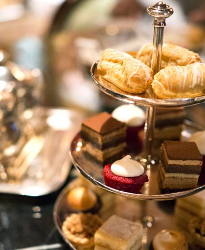 Tea at The Ritz Carlton