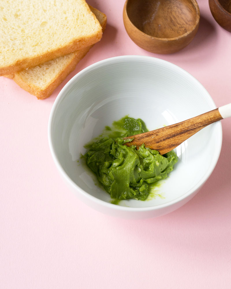 Matcha butter spread image