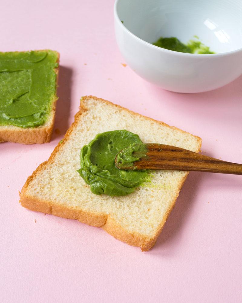 Matcha (Green Tea) Sugar Toast