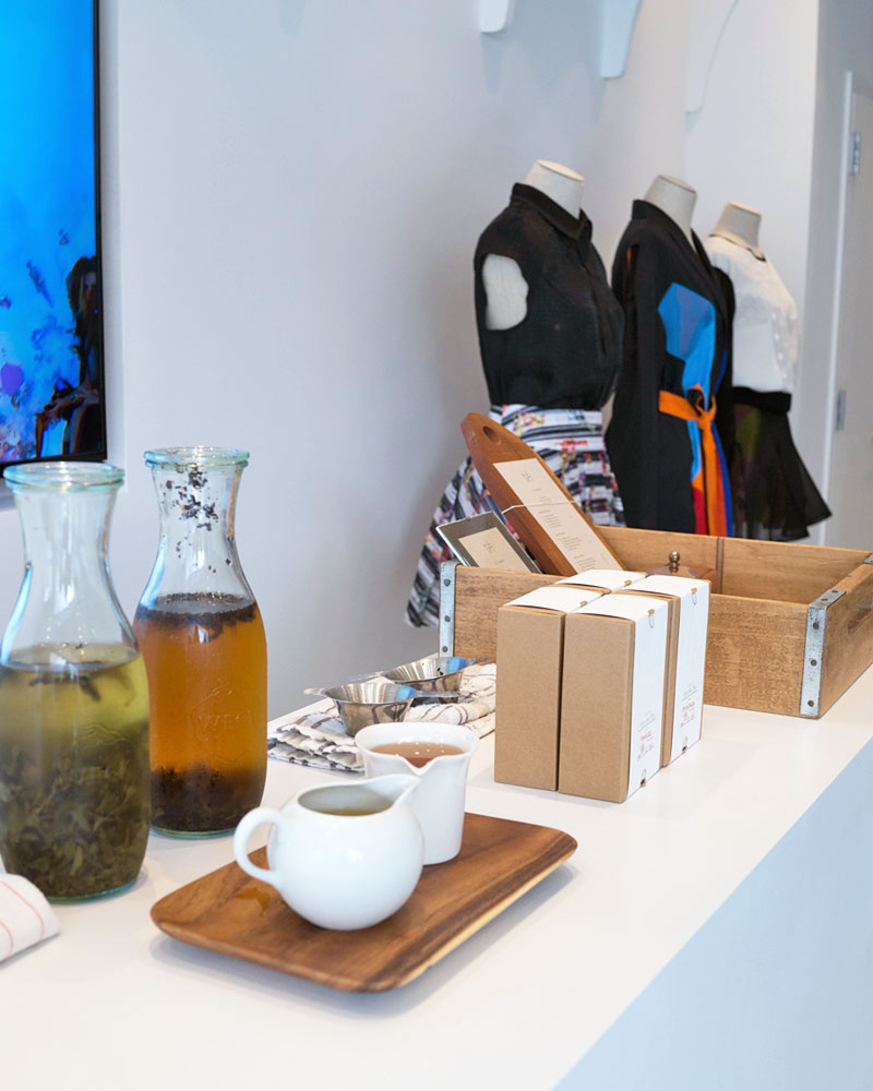 Tea Events at Lie SangBong Shop in NYC