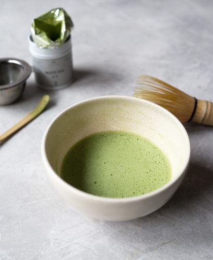 How to Make a Perfect Bowl of Matcha - matcha froth