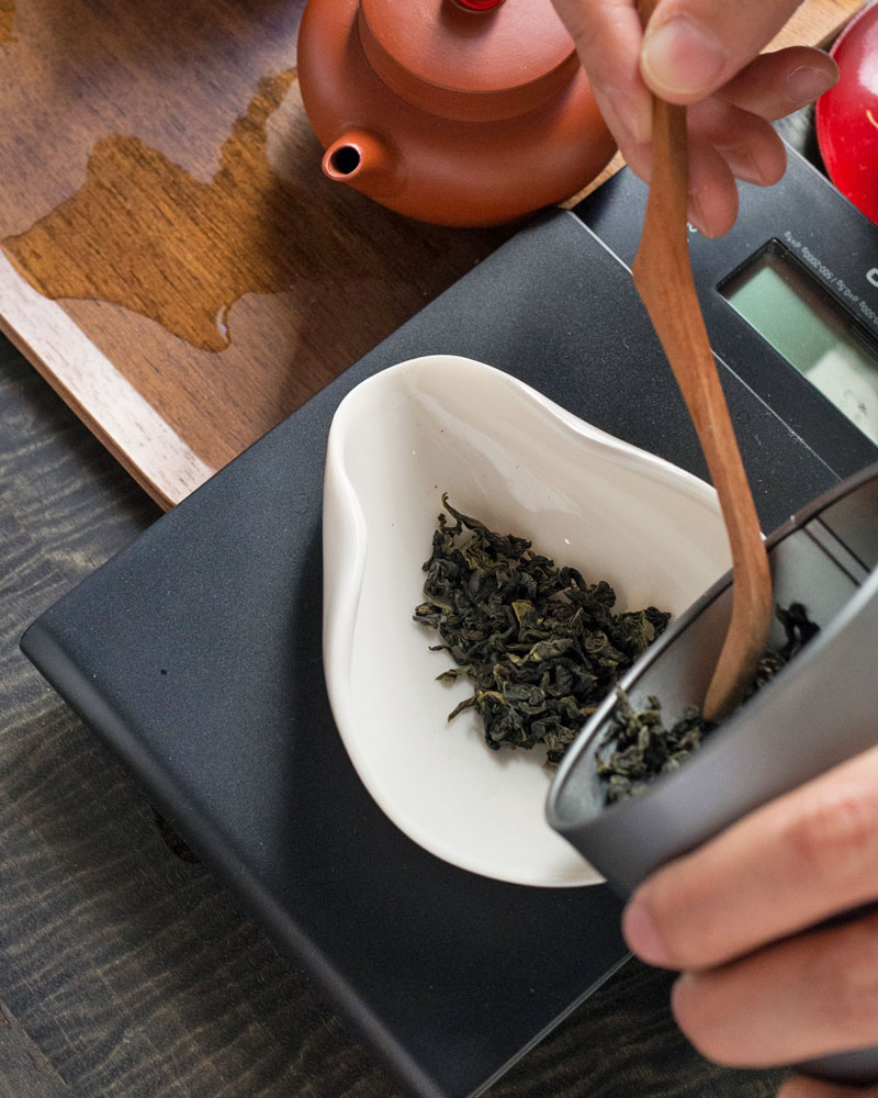 Bespoke Oolong Tea Tasting at Te Company