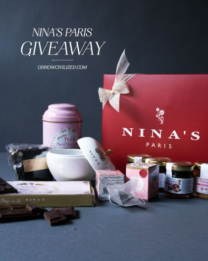 NINA'S Paris Giveaway