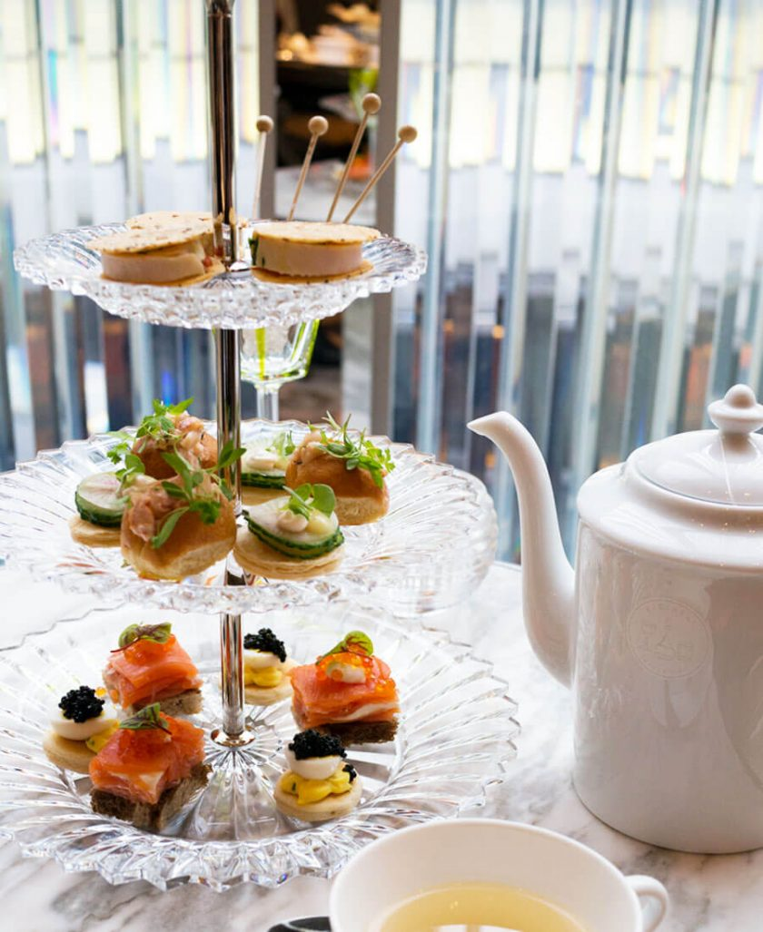 Afternoon Tea at the Baccarat Hotel New York