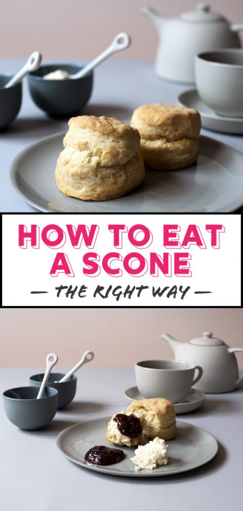 How To Eat A Scone Properly Oh How Civilized