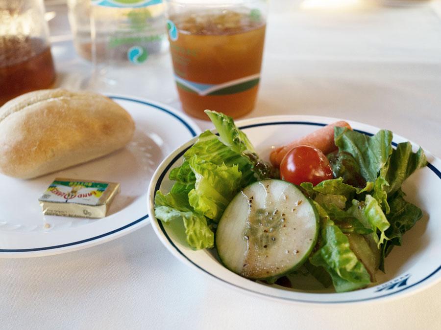 Amtrak Auto Train to Florida Dinner Image
