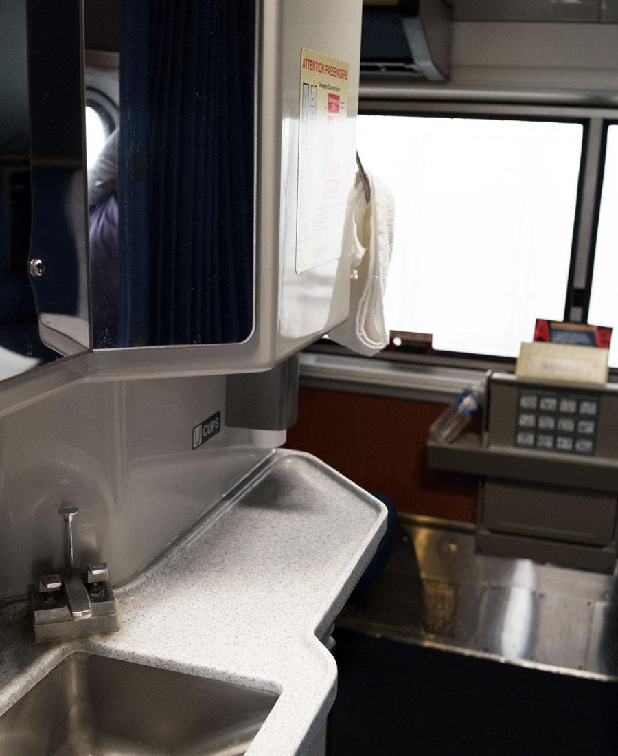Amtrak Auto Train Superliner Roomette photo
