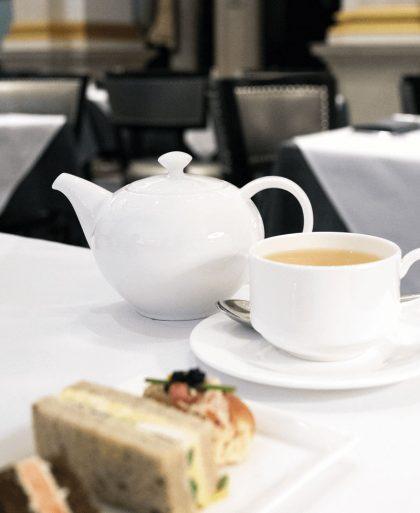 Tea at St. Regis