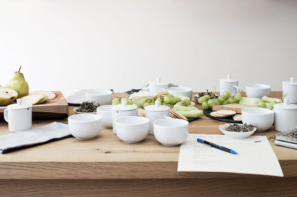 white tea and cheese pairing