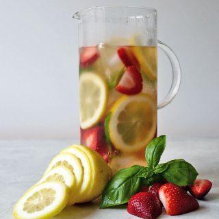 cold brew fruit tea