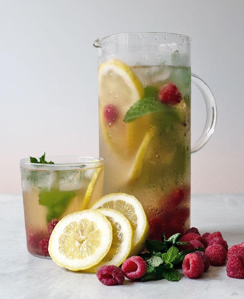 fresh fruit iced tea
