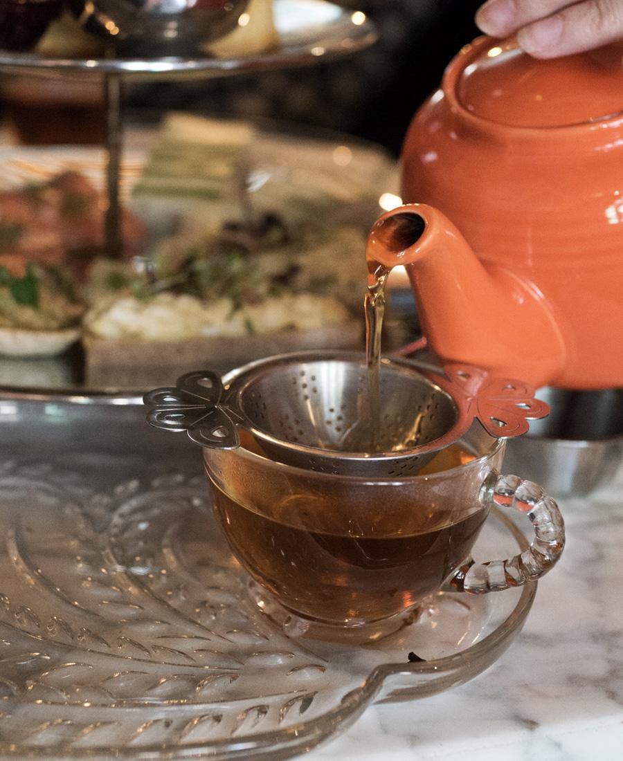 Afternoon Tea at Garfunkel's NYC