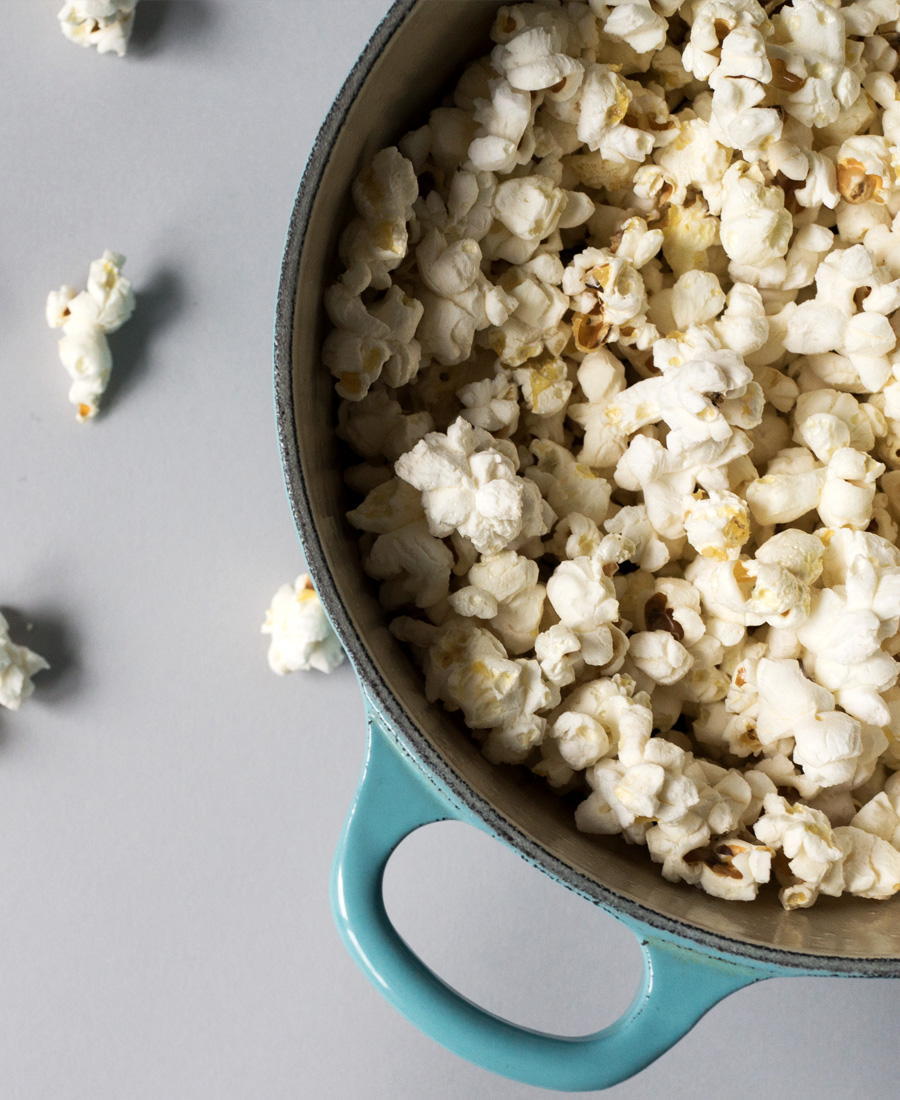 How to make stovetop popcorn image