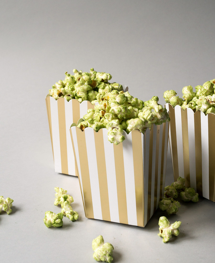 Matcha Green Tea Popcorn photo
