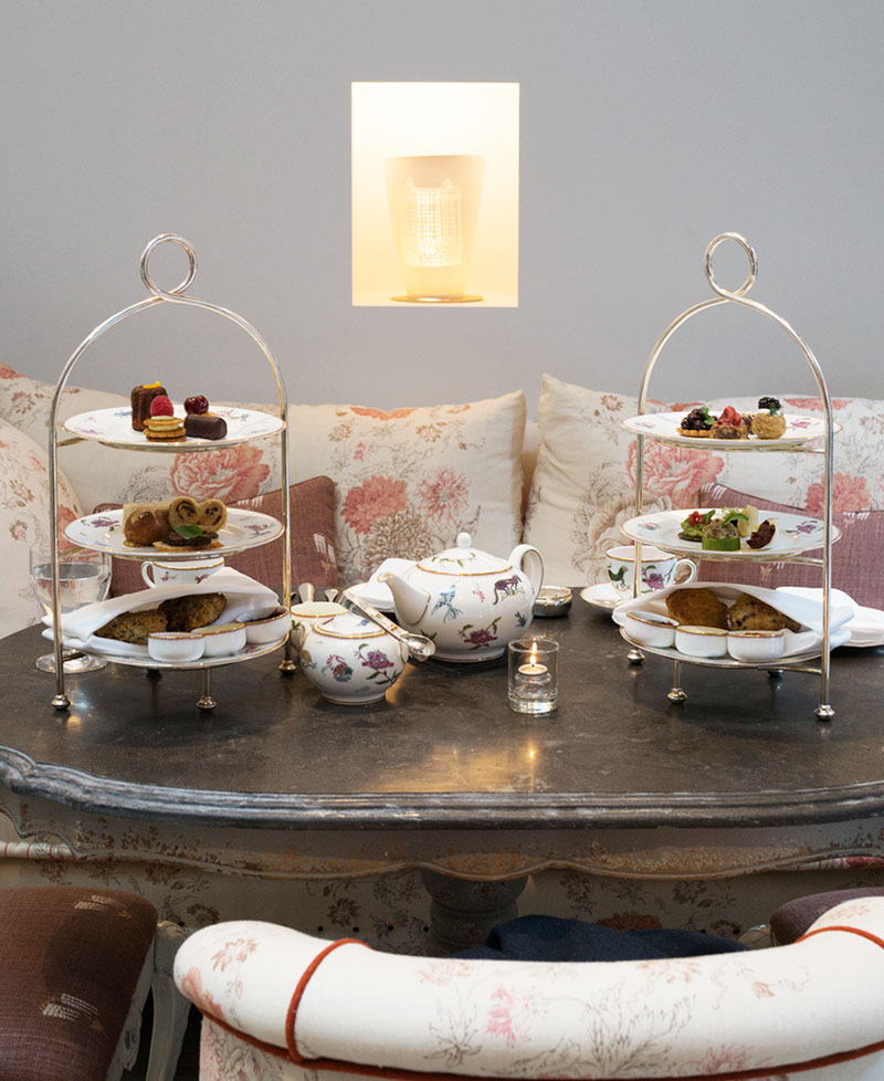 Afternoon Tea at The Whitby Hotel New York