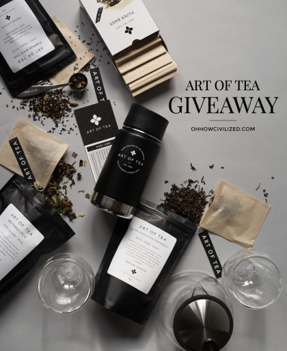 Art of Tea Holiday Giveaway