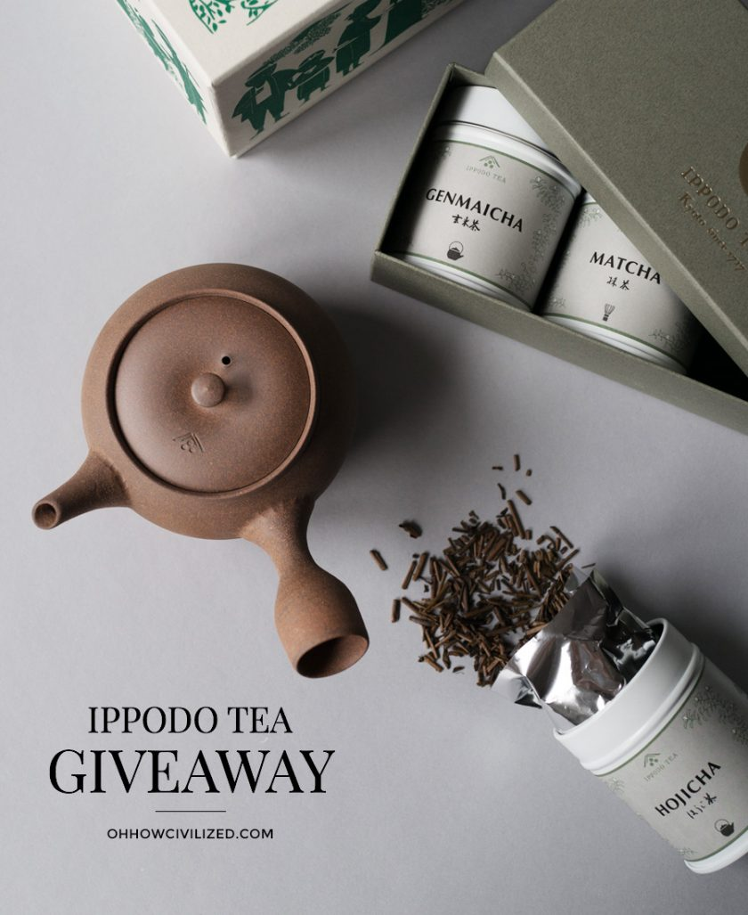 Ippodo Holiday Giveaway