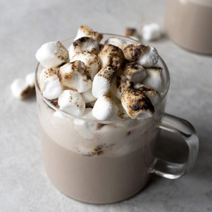 Hojicha Hot Chocolate