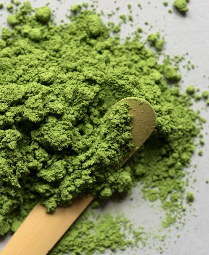 Matcha green tea photo