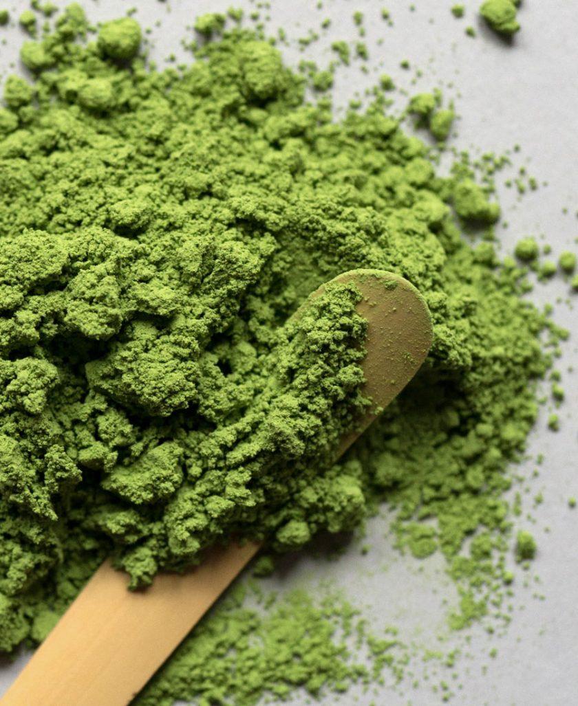 Matcha green tea photo