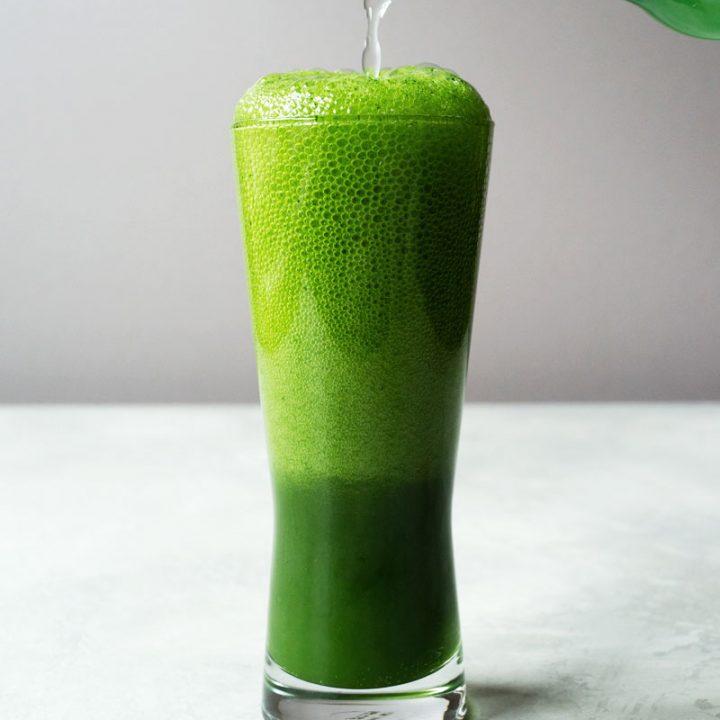 Matcha (Green Tea) Ginger Beer