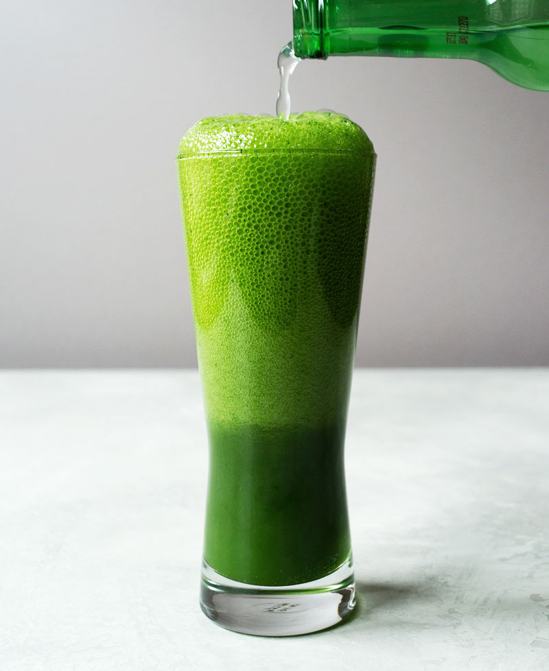 Matcha ginger beer
