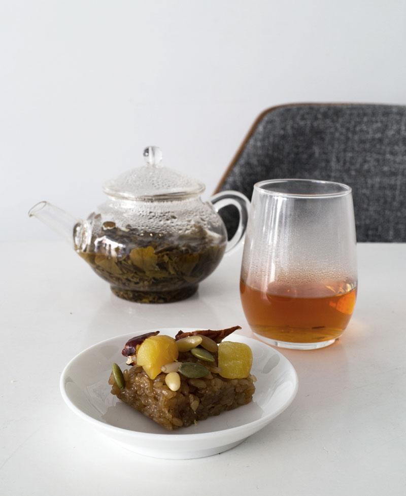 Korean tea tasting