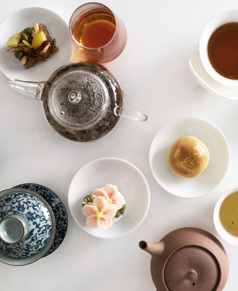 Korean tea pairing