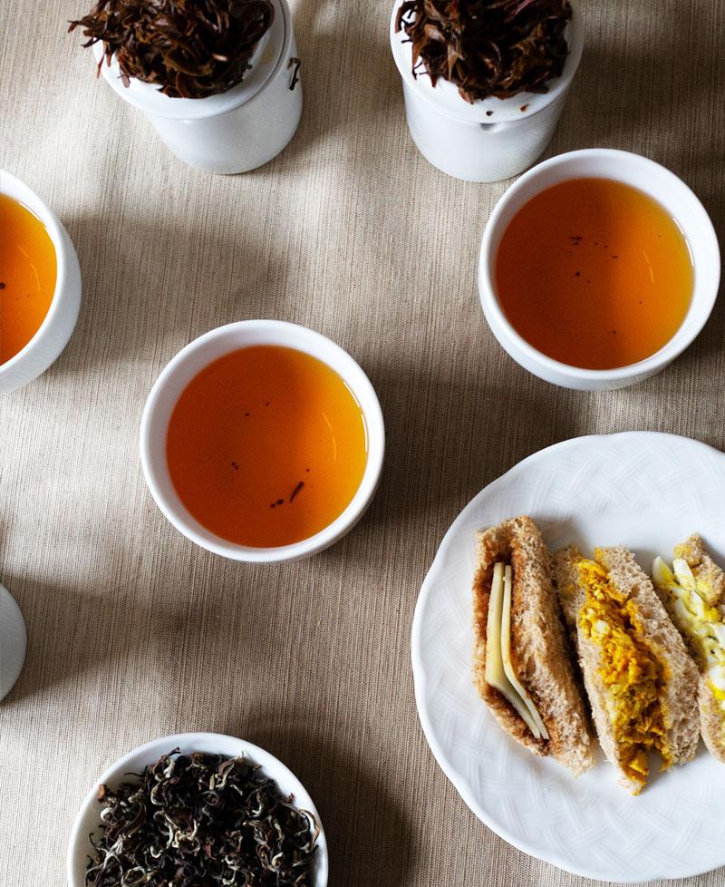 Black tea pairing